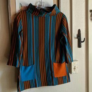 Vintage Tops - Vintage 60's mod tunic from Beeline USA